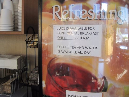 Esquimalt, Καναδάς: coffee, tea and water available all day
