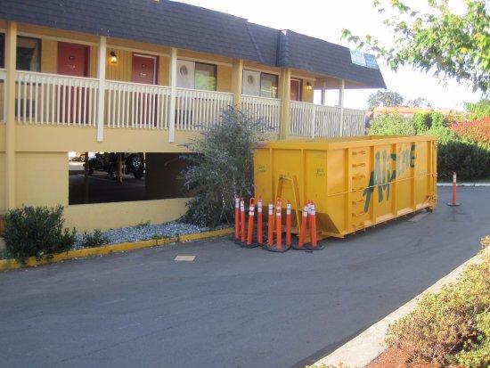 Esquimalt, Canadá: construction was evident