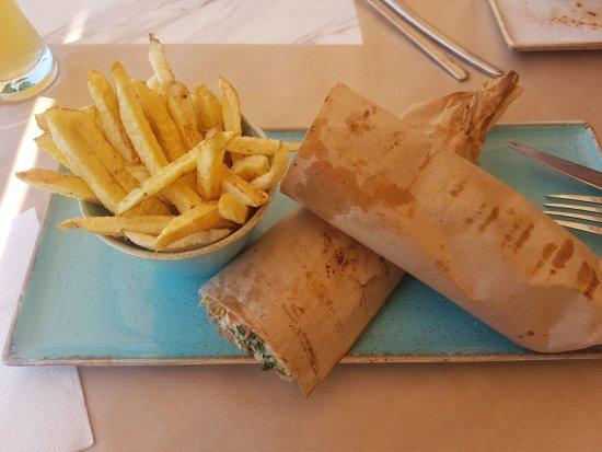 Best lunch in Crete!
