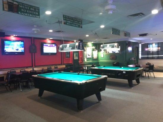 Ewing, Nueva Jersey: Billiard room