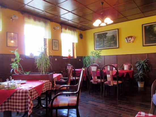 Hrusevje, สโลวีเนีย: Dining Area