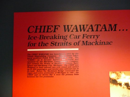 Manitowoc, WI: Information about Chief Wawatam