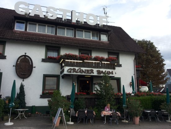 Heuweiler, Alemania: Gasthof Grüner Baum