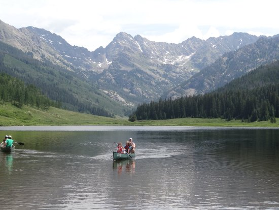 Piney River Ranch: Canoeing, reasonable rates!
