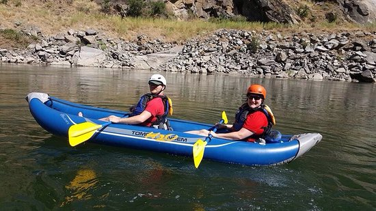 Riggins, ID: Team RWB whitewater trip. Thank you, Veterans...especially awesome ones that are fun river guide