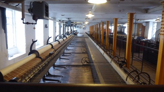 Styal, UK: Various items of cotton processing machinery 10