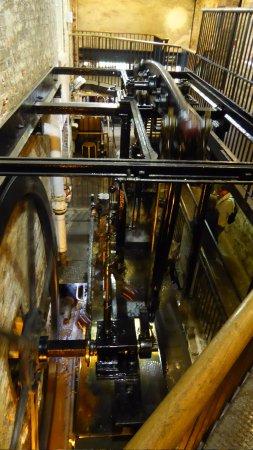 Styal, UK: Steam beam engine