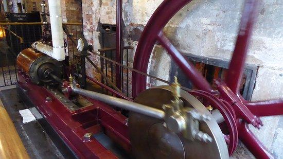 Styal, UK: Steam engine