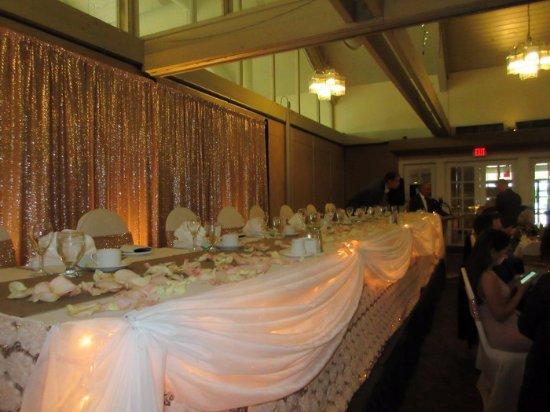 Langley, Kanada: Wedding Table