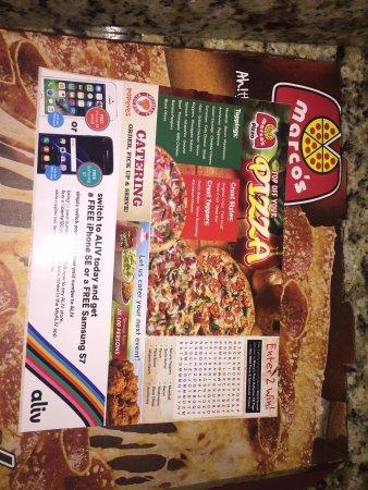 Marco's Pizza: Menu