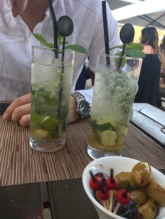 La Chapelle-en-Serval, France: Restaurant Stradivarius : Virgin Mojito