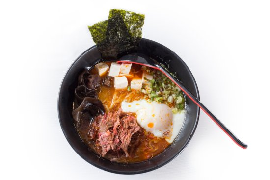 Many varieties of Ramen to choose from