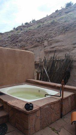 Ojo Caliente, Nowy Meksyk: Private soaking tub