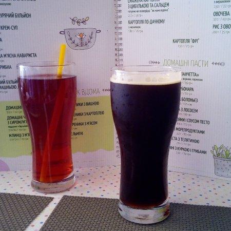 Bila Tserkva, Ukraine: Морс и пиво