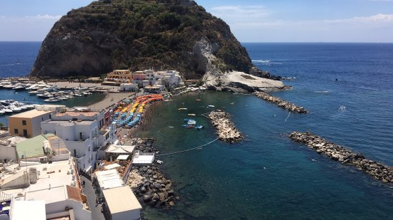 Hotel Villa Sirena: Utsikt från restaurangen