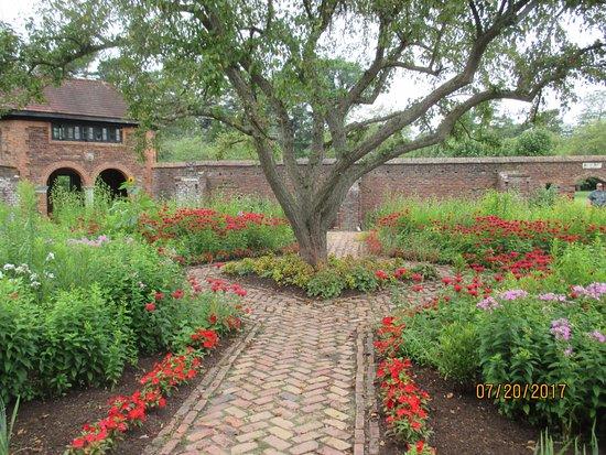 King's garden outside of Ft Ticonderoga