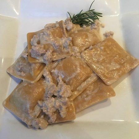 Pracchia, Italie : Ravioli di castagne!