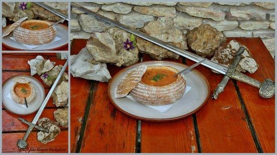 Valtice, Republika Czeska: Moravská zelňačka v chlebovém kotlíku