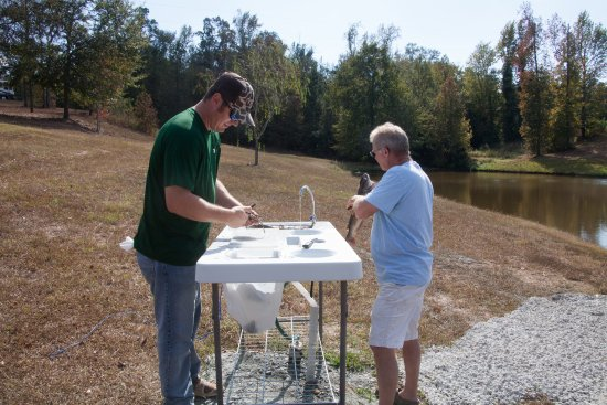 Milledgeville, GA: Fish Cleaning Station
