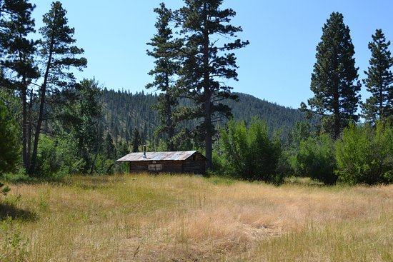 Wolf Creek, MT: The Sawmill Cabin on the Cave Ride