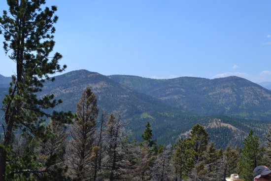 Wolf Creek, MT: Just a beautiful view!