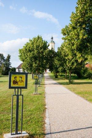 Wemding, Alemania: Hauptweg zum Kloster Maria Brünnlein
