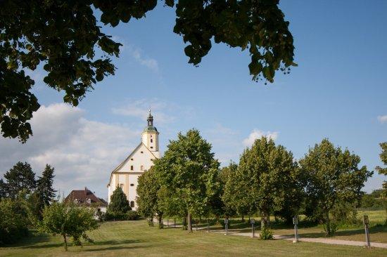 Wemding, Almanya: Hauptweg zum Kloster Maria Brünnlein