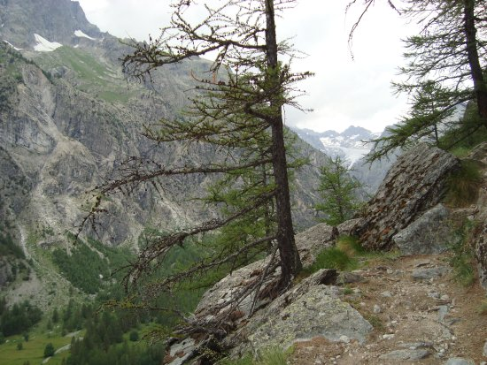 National Park of the Ecrins: Wanderweg Pellvoux-Ailefroide