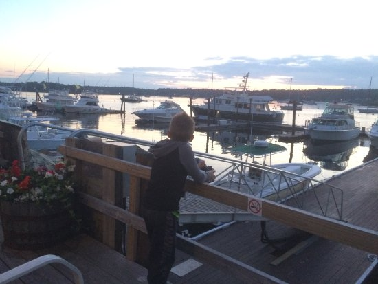 Brown's Wharf Inn: view from the front deck