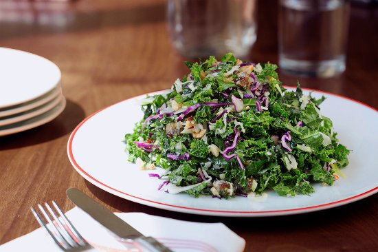 Potomac, Maryland: Kale Salad 