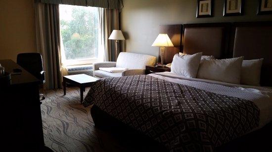 Trevose, PA: Room was spacious and comfortable