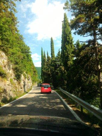 Crespano del Grappa, อิตาลี: Acesso ao Monte Grappa