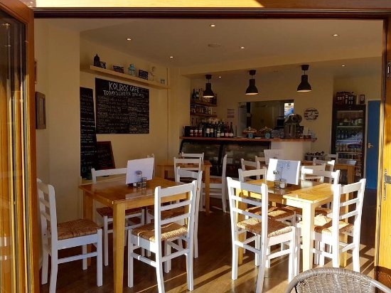 Chapel-en-le-Frith, UK: Kouros Cafe