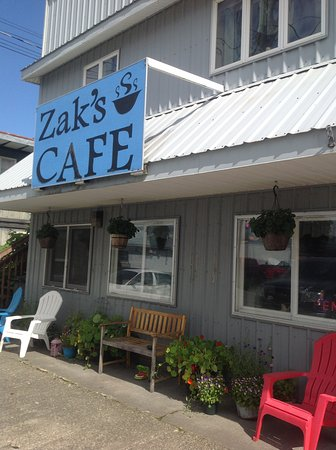 Wrangell, AK: Zak's Cafe 2017
