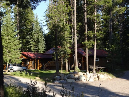 Hungry Horse, MT: Our Cabin, to the right