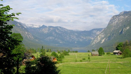 Residence Triglav: View in the morning light