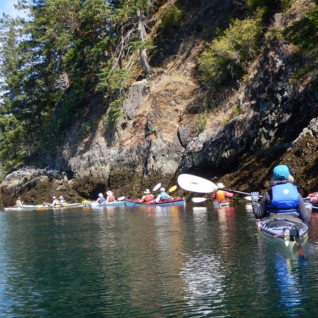 Heriot Bay, Canada: The day trips were always intersting. Unspoiled nature to explore.