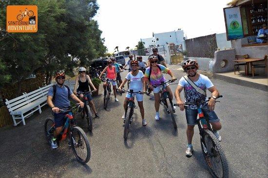 Karteradhos, Greece: Ebike tour Santorini, bike tours, cycling Santorini, rent a bike, outdoor, explore