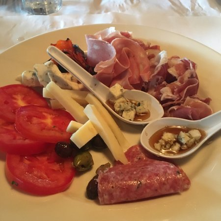 Solana Beach, Californien: Anti-pasta plate is the bomb