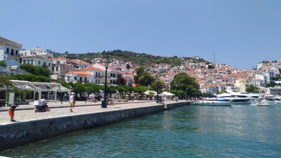 Skiathos Town, Greece: Town