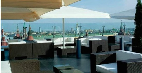 The Ritz-Carlton, Moscow: вид из ресторана