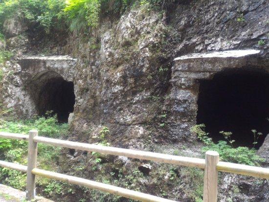 Rocca Pietore, Italia: Local de esconderijo de soldados
