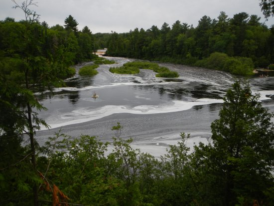 Tahquamenon Falls State Park Just One Of The Lower In Distance