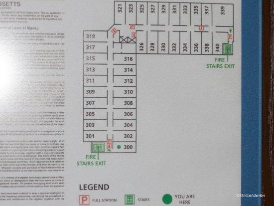Westport, MA: Diagrama dos quartos