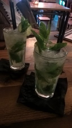 Glossop, UK: Mojitos