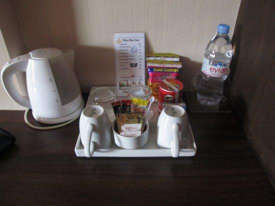 Rayaburi Hotel Patong : kava a čaj