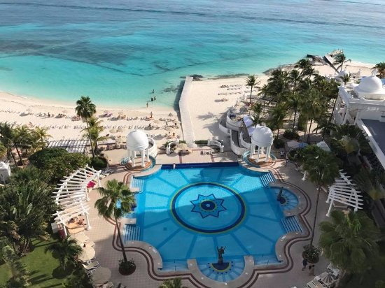 Hotel Riu Palace Las Americas: View from 7th floor ocean view suite