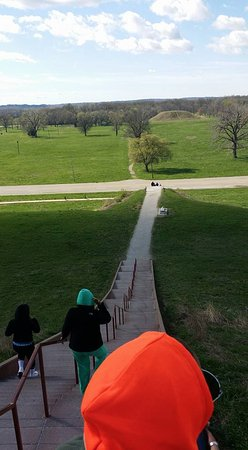 Collinsville, IL: and looking down!