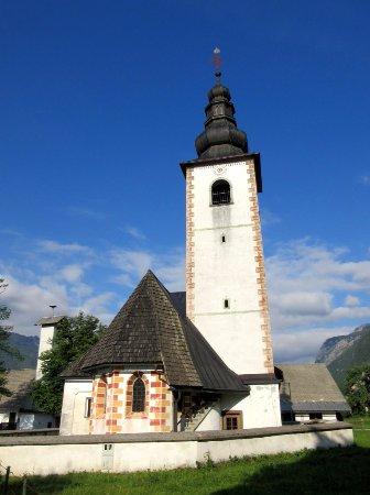 Bohinjsko Jezero, Slovenia: One of the other churches by the lake