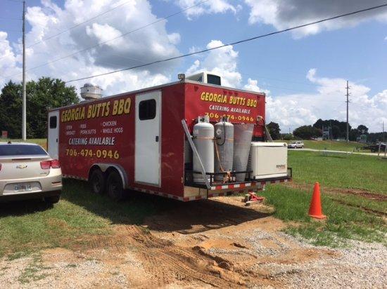 Eatonton, GA: Catering Truck